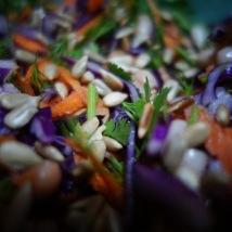 Salade chou macro